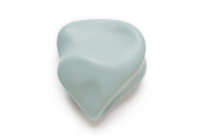 voelvorm hart zeeblauw