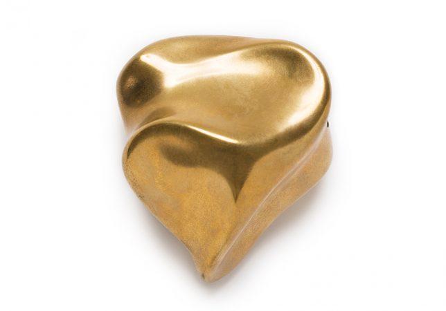 voelvorm hart brons