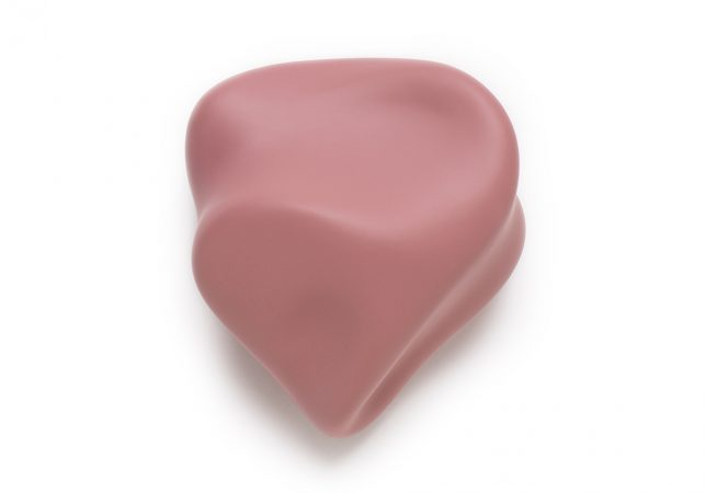 voelvorm hart rose