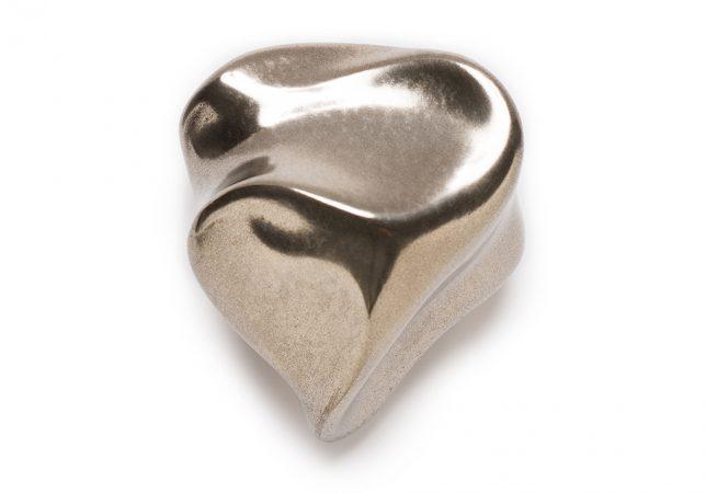 voelvorm hart zilver